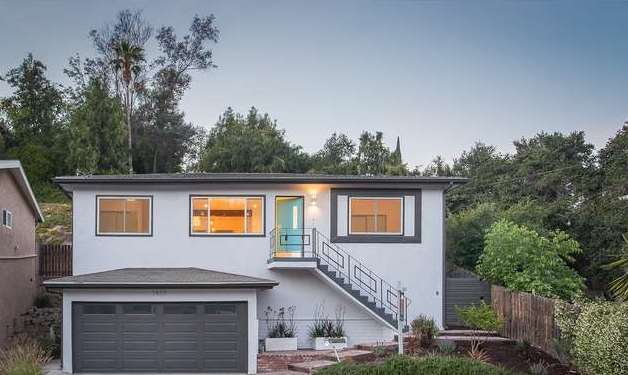 Mid Century Modern Home in the hills of Eagle Rock.