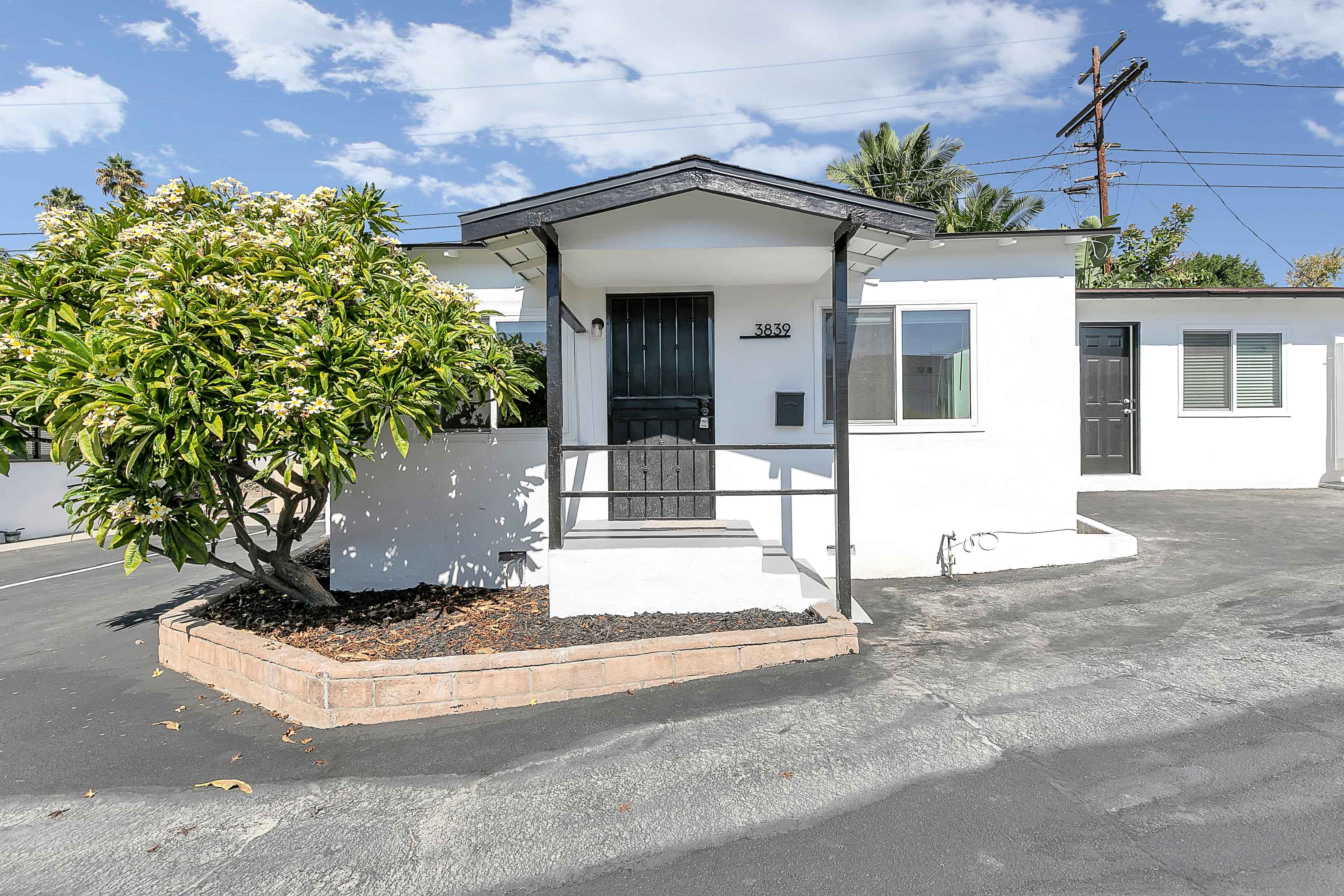 Spacious & Renovated Single Family Home | Intimate 4-Plex Property | Private Side Patio + Shared Patio W/ Fireplace & Deck | Amazing Location!