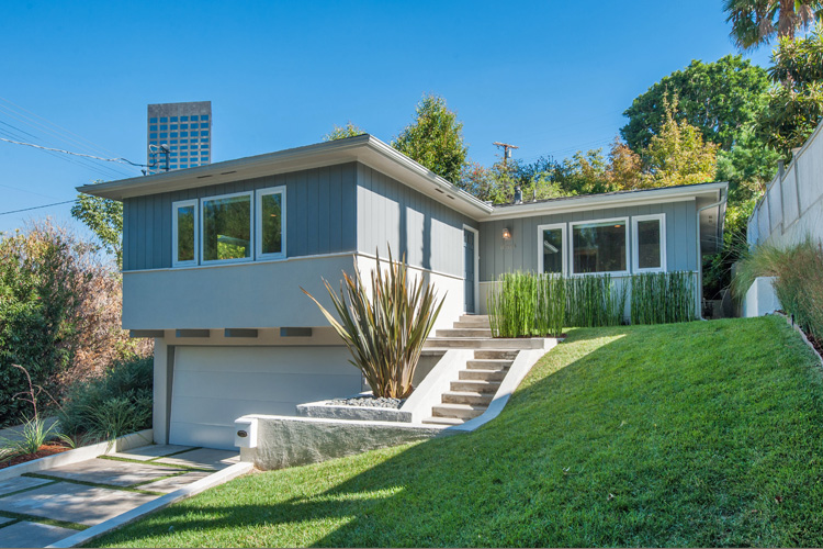 Sleek! Modern! Private! This Hillside Home is All That & More