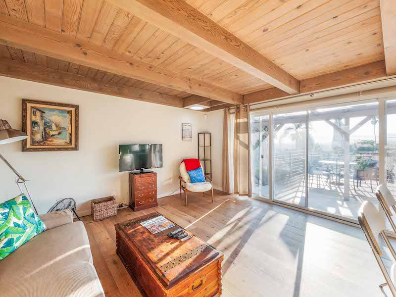 Furnished Silver Lake One Bedroom | Huge Private Deck | Bonus Storage | Central A/C, In-unit Laundry & One Car Garage