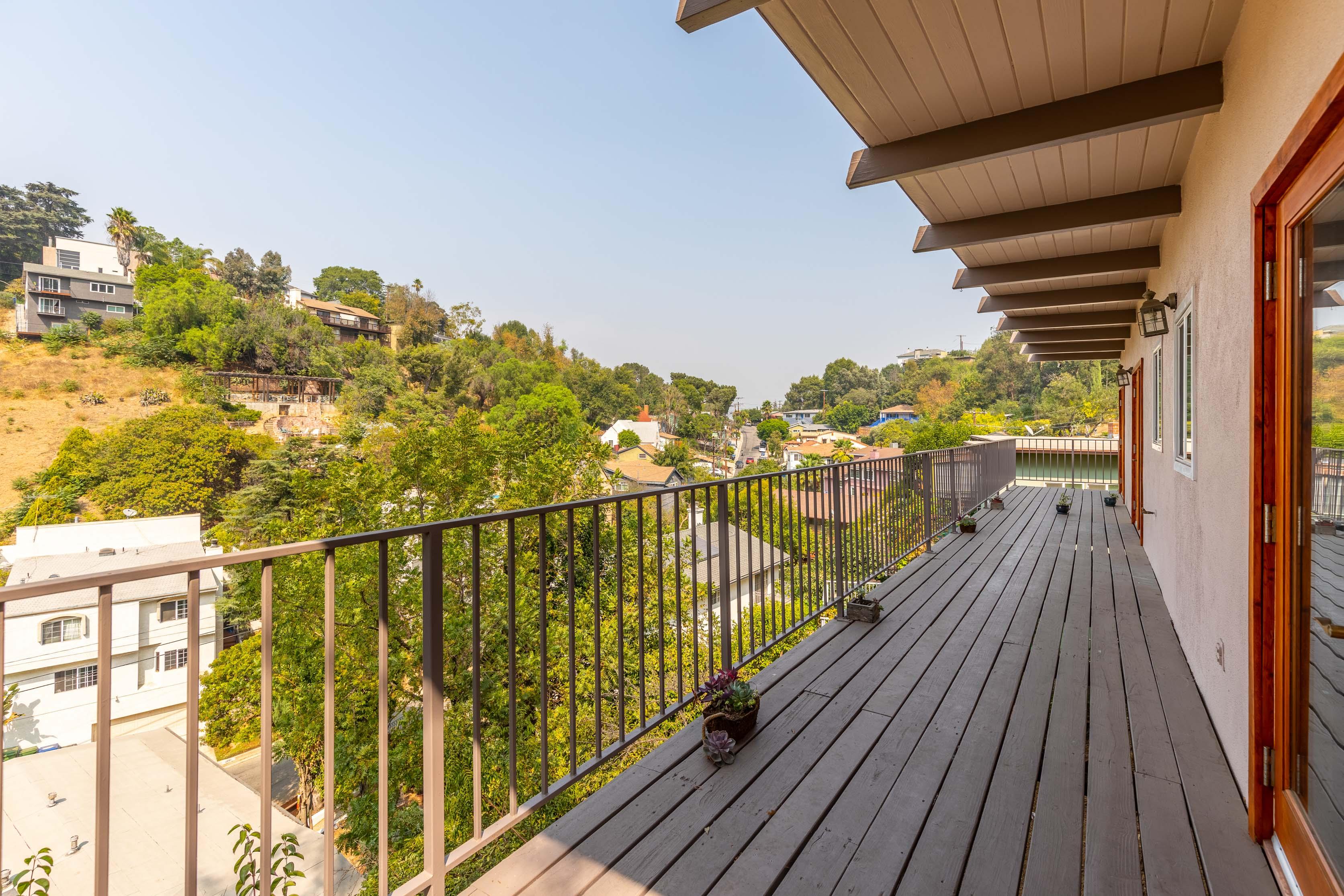 Mt. Washington Mid-Century Single Family | Wrap Around Balcony | Garage Parking | Sleek Renovations