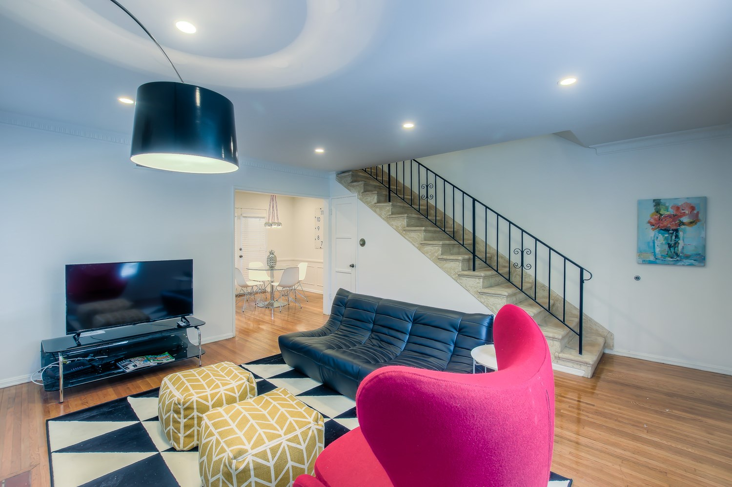 Mod FURNISHED, Pet-Friendly Westwood Townhouse Available for Short-Term Stays!