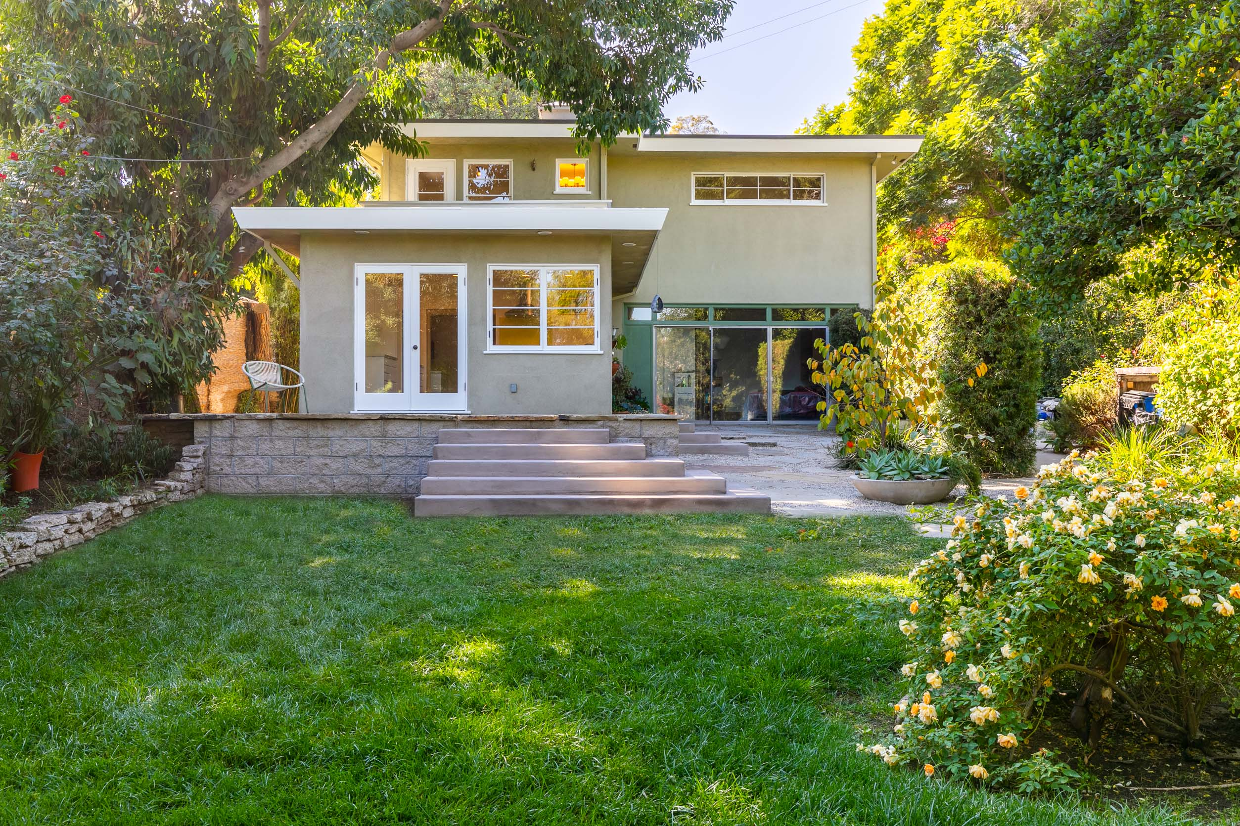 Stunning and Remodeled Mid-Century Two Level Home | Franklin Hills | Huge Private Yard w/ Deck | Separate Workshop + outdoor studio