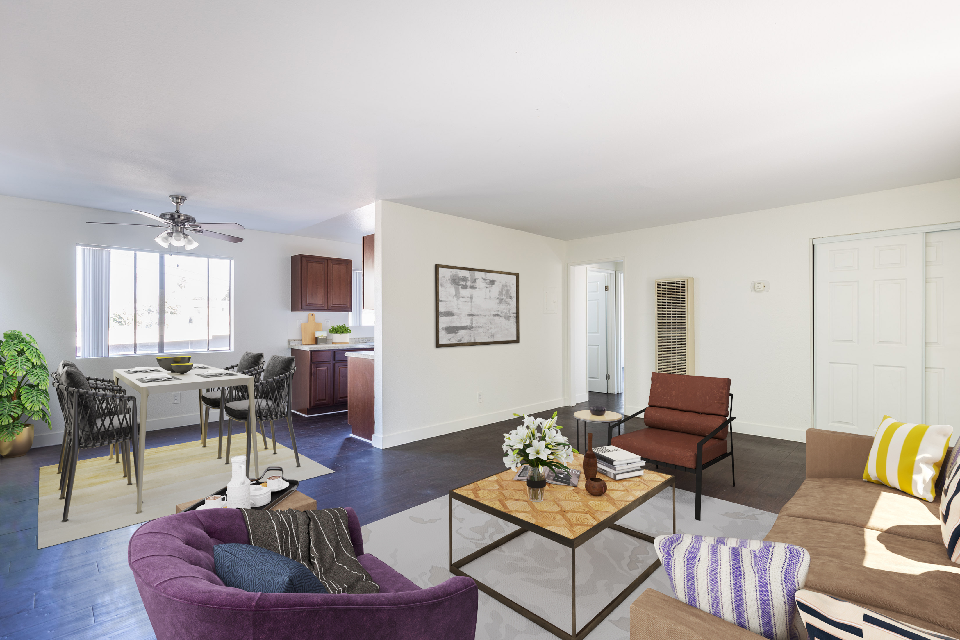2BD/1BA Inglewood Beauty With On-Site Laundry and Gated Parking