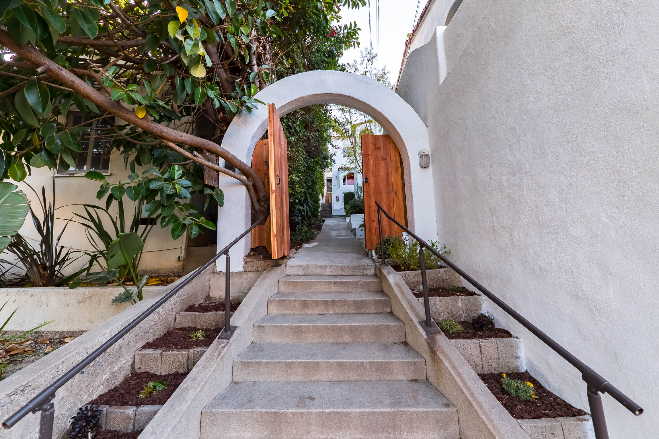 An incredible an rare opportunity to own a small slice of heaven in Echo Park!