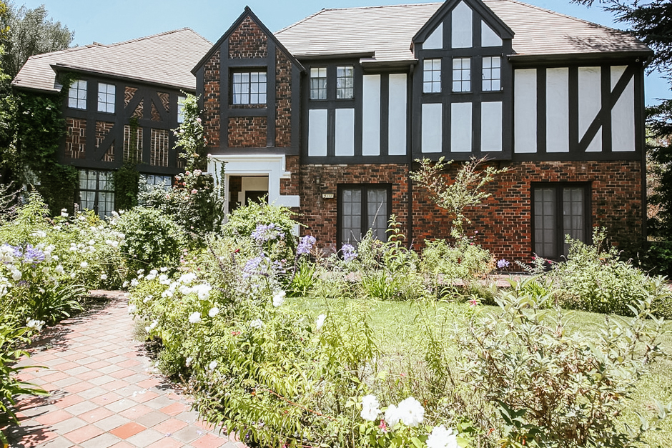Stunning French Tudor Home in Los Feliz Hills! Short Term Vacation Rental |  Fully Furnished! Ready to Welcome You Home.