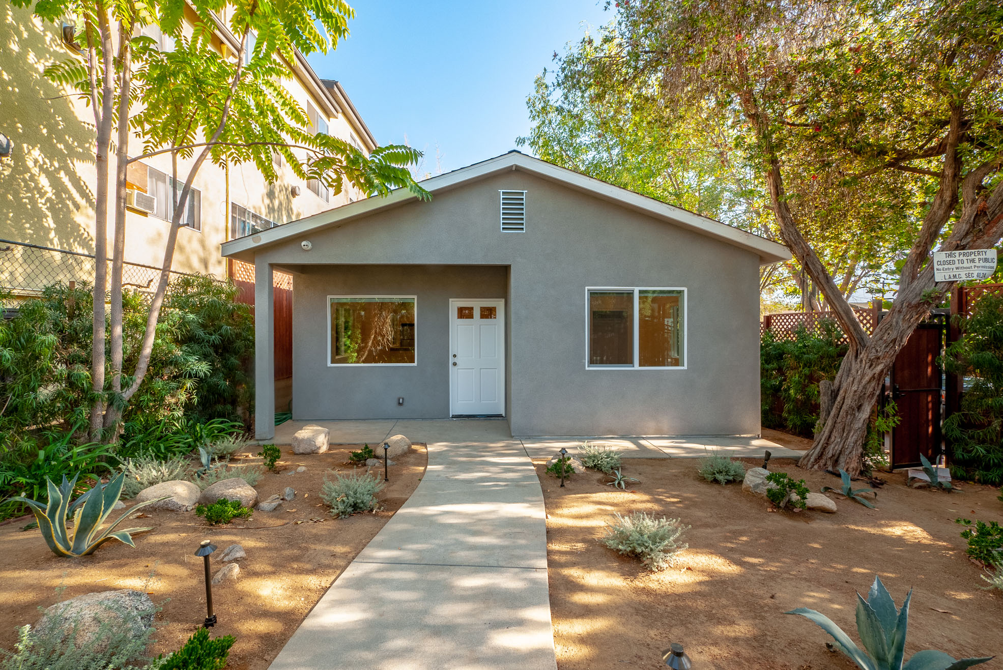 Private Yard, Fully Fenced, Gated Parking, Private Home! Fully Renovated 2 Bed/2 Bath w/ Brand new appliances, including Washer/Dryer!