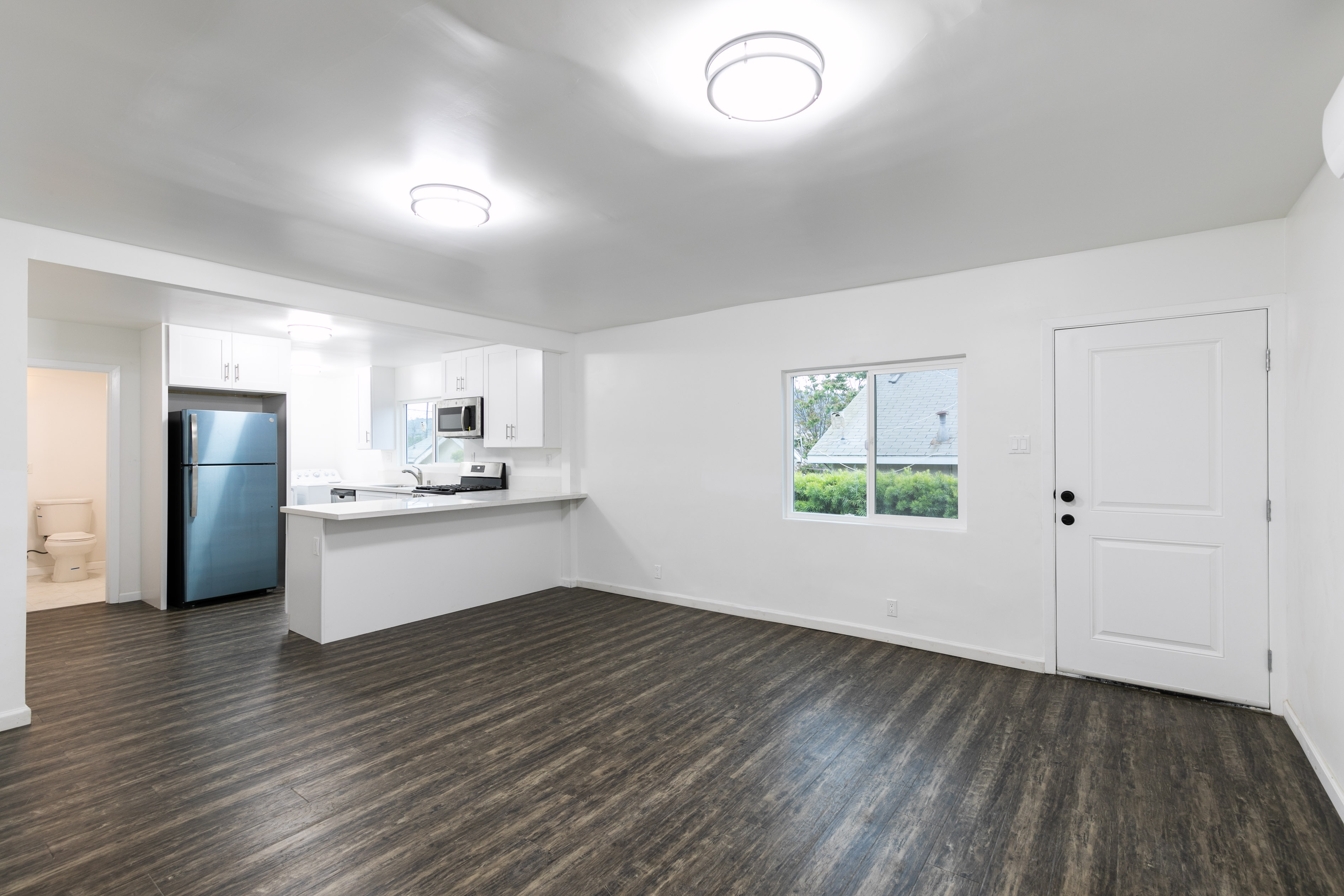 Newly Renovated 2 Bed/ 2 bath In Cypress Park | AC Included | W/D In Unit! | Parking Included + Private Patio