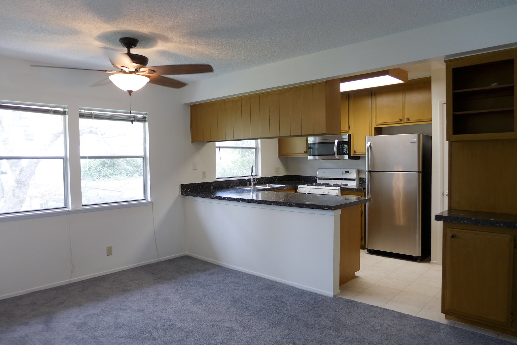 Wow! GATED -Super Spacious 2bed-Renovated Kitchen- W/D - CLOSE to everything!