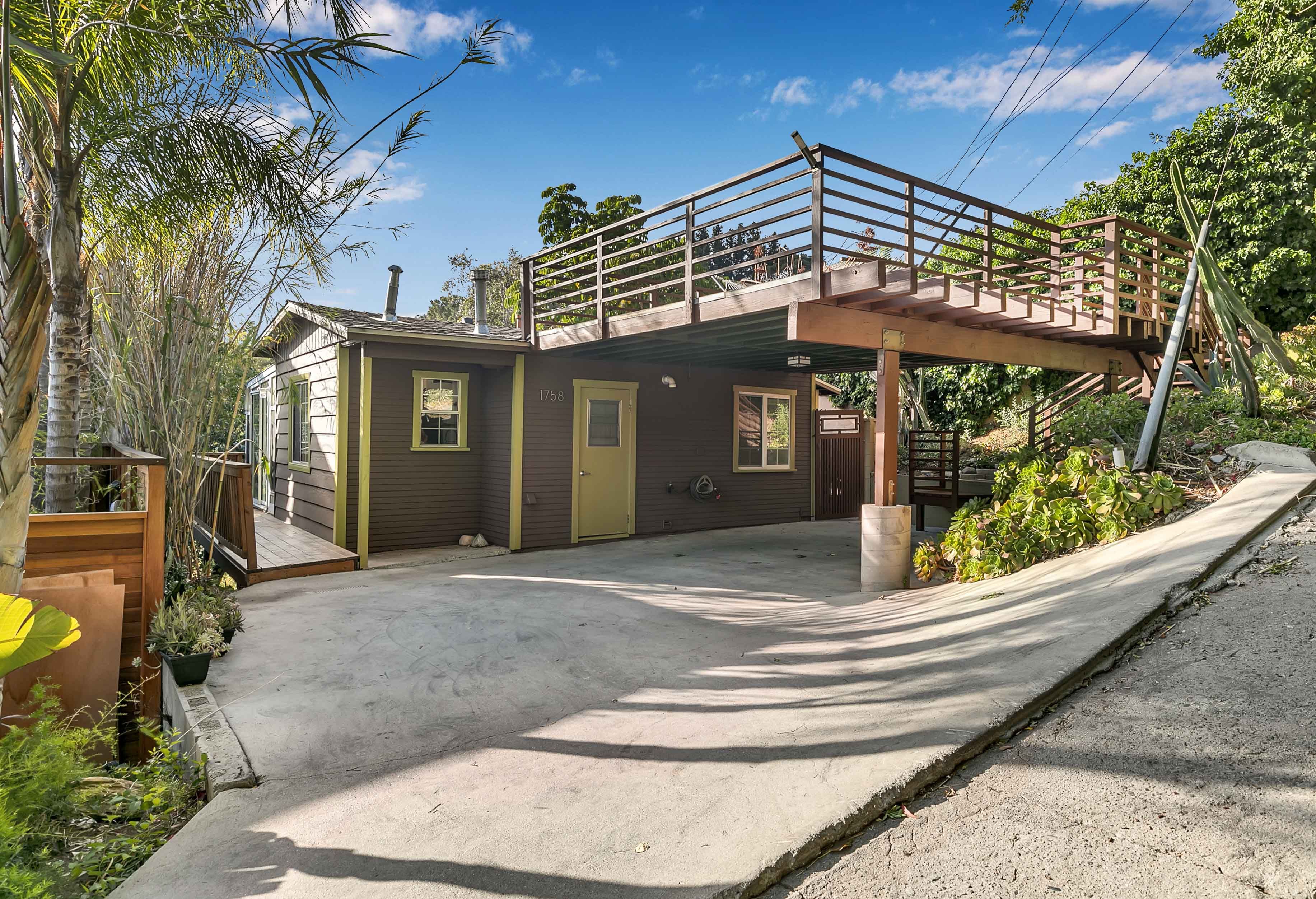 Hillside Woodland Escape | Private 2 Bedroom/2 Bath Single Family Home| Tiered Backyard + Deck | Parking Included!