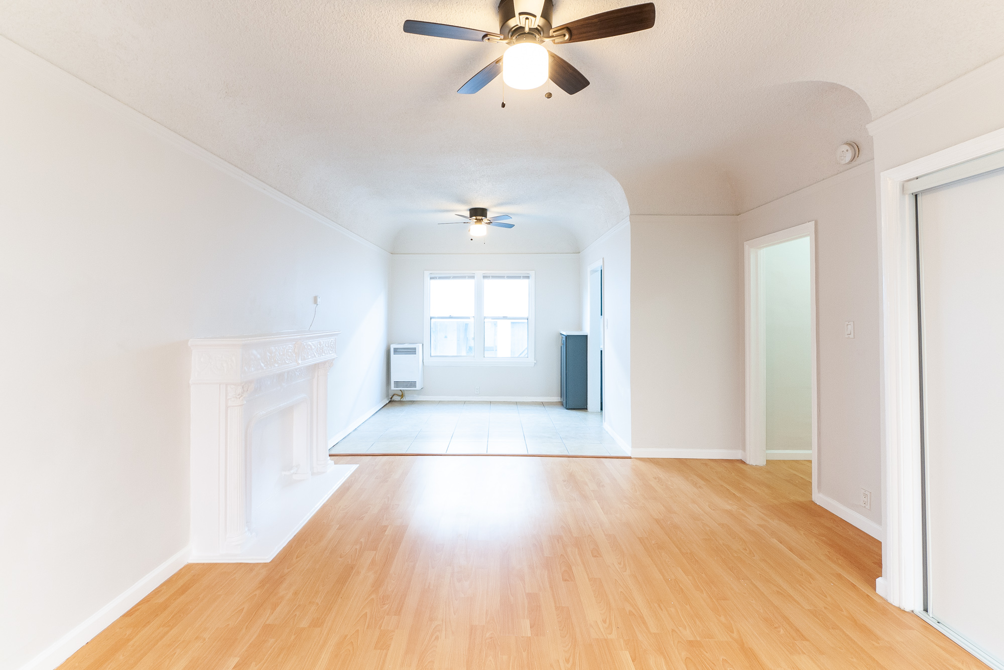 Spacious and Lovely! Recently Renovated - Decorative Fireplace- Close to Metro