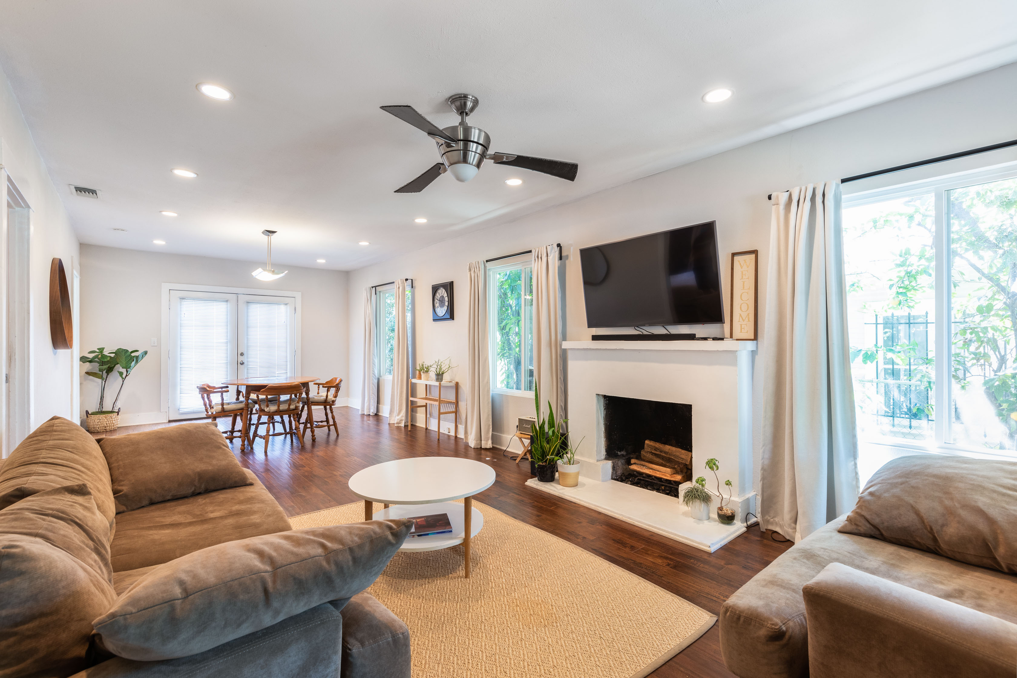 Quaint Silver Lake Abode | Expansive Fenced In Back Patio | Fruit Trees & Front Yard