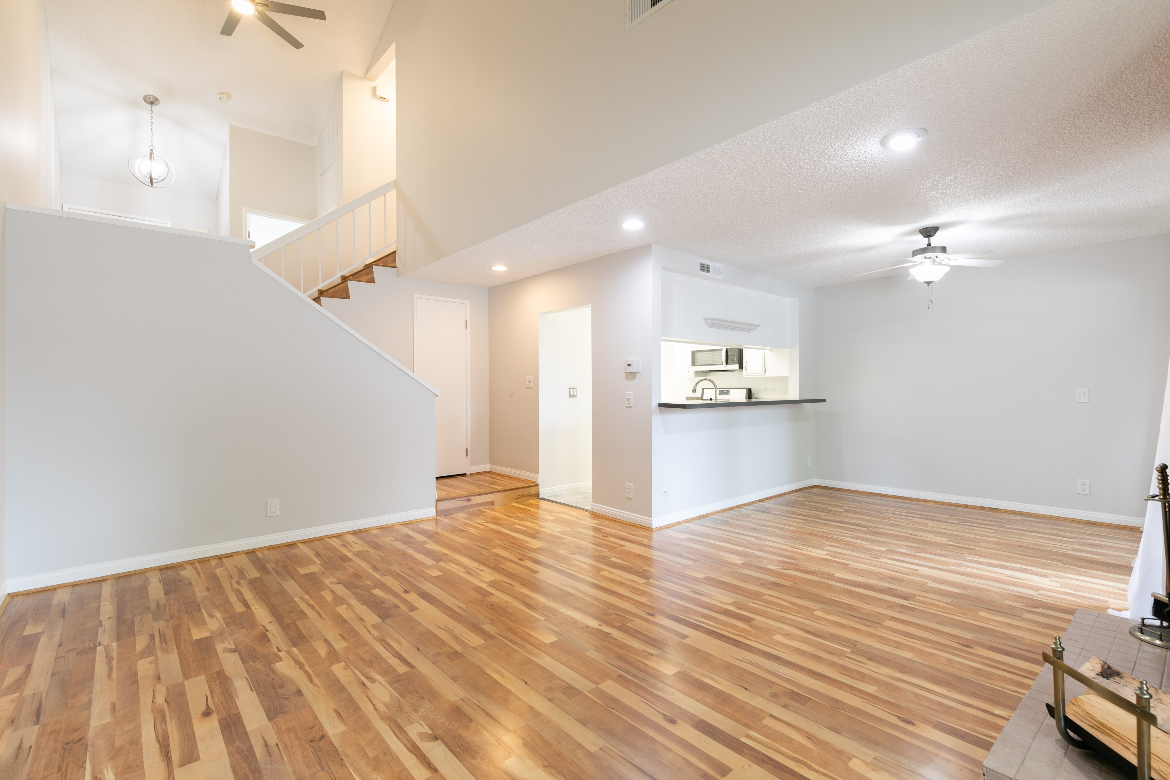 Amazing tri-level condo with community pool, gym, and gated entry!