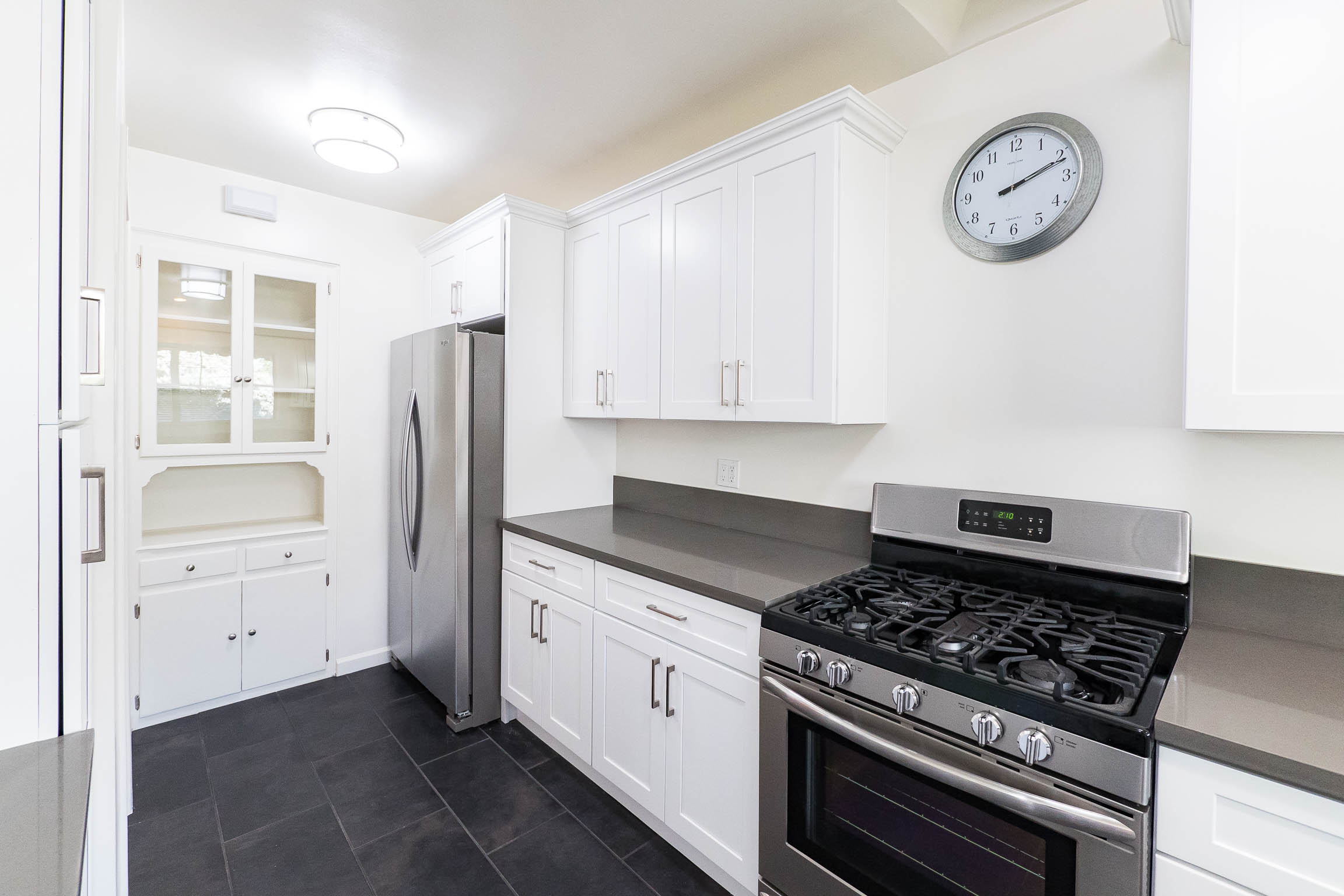 Stunning Upper Two Bedroom | Completely Renovated Kitchen | Amazing Silver Lake Location | Garage Parking and In Unit Washer & Dryer