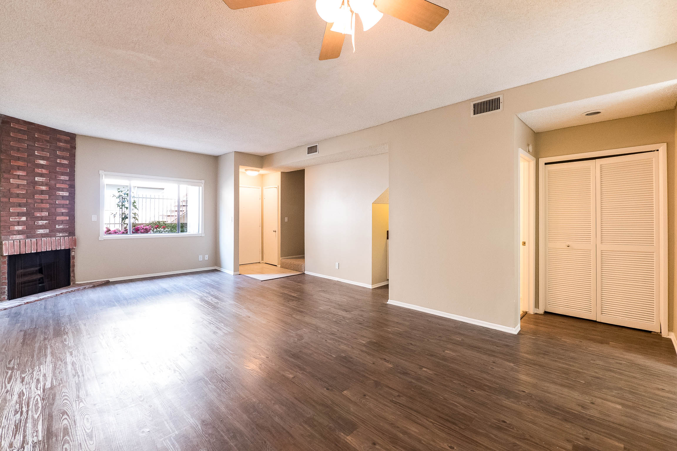 Large and lovely two story three bedroom townhome, move in ready!