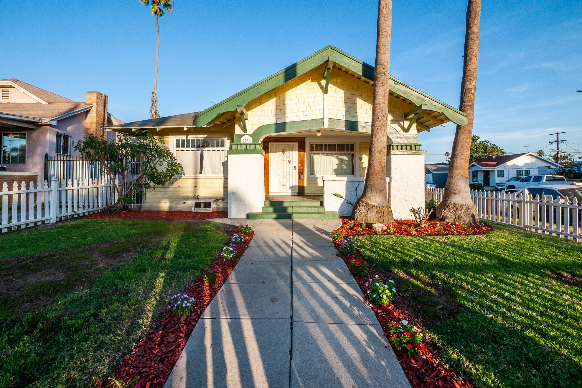 Glorious!! Beautifully Restored Craftsman Home - Exquisite Details - Central Air and Heat - Private Outdoor Space! 2 Parking Spaces
