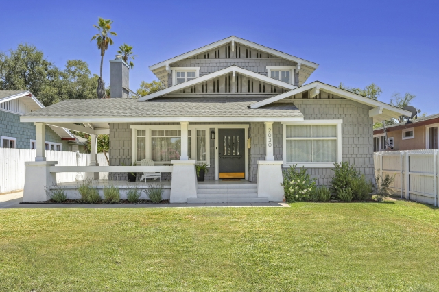 1913 Grand Craftsman in Pasadena with Modern Updates