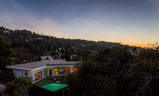 Sophisticated Mid-Century Modern stunner with incredible views, pool and privacy!