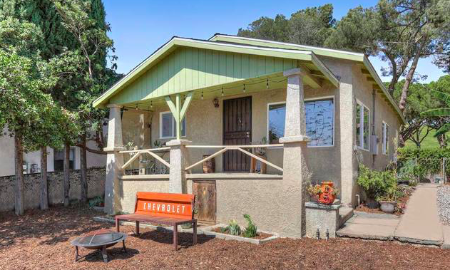 This sweet Cal Bungalow puts you in one of LA's hottest neighborhoods at a great price.