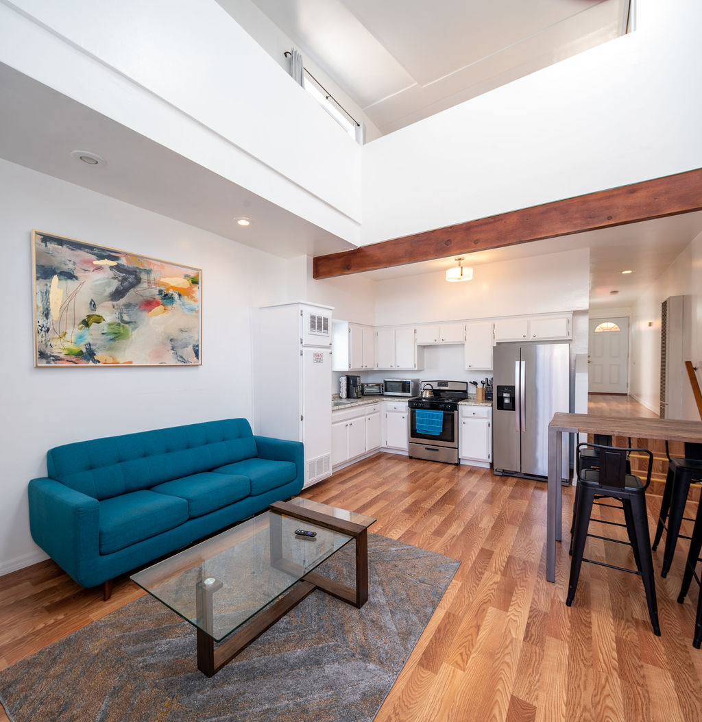 Two Story 2BD / 2BA Venice Loft, Just Minutes To Beach, Free Laundry On Site, One Parking Spot Included