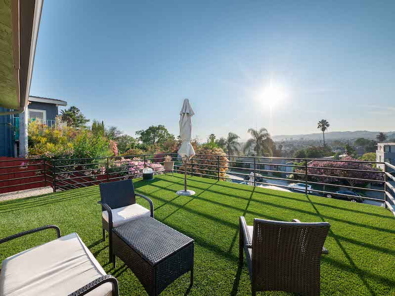 Stunning Silver Lake Duplex |Funished Upper Unit | Large Deck w/ Views| Hot Tub & Outdoor Shower | Two Garage Parking Spaces & Central A/C