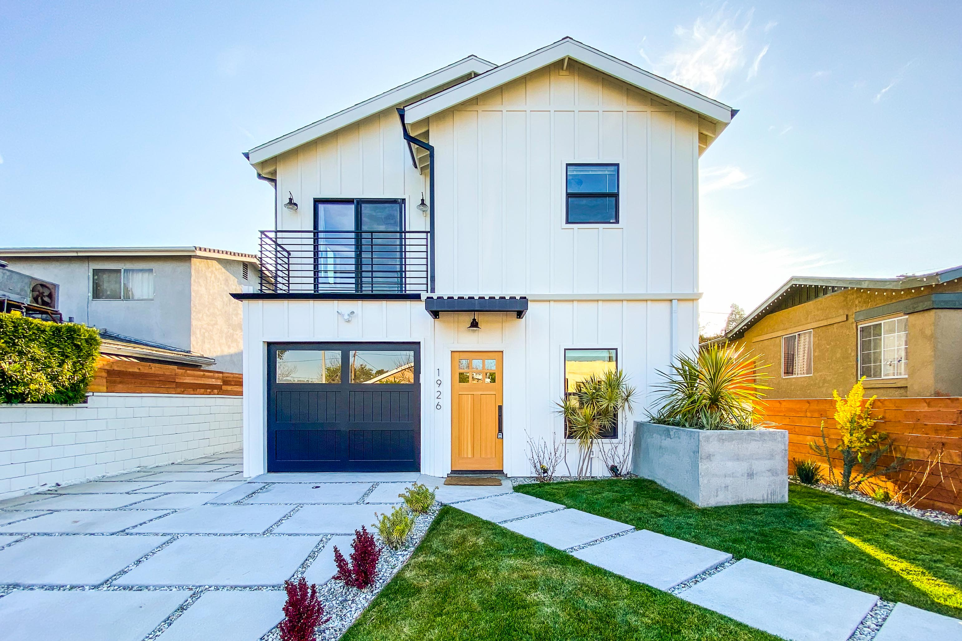 Two-Story Private Home on Duplex Lot | Balcony Off Master Bedroom | Washer/Dryer | Gated Entrance