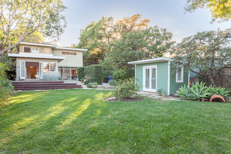 Stunning Mid-Century Two Level Home | Franklin Hills | Huge Private Yard w/ Deck | Separate Workshop + outdoor studio