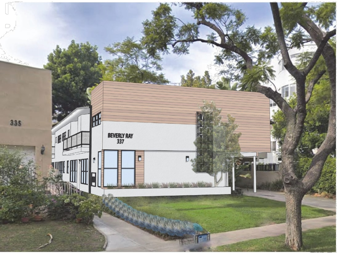 Brand-New 1 Bedroom/ 1 Bathroom on Beautiful Tree-Lined Street in 90210!