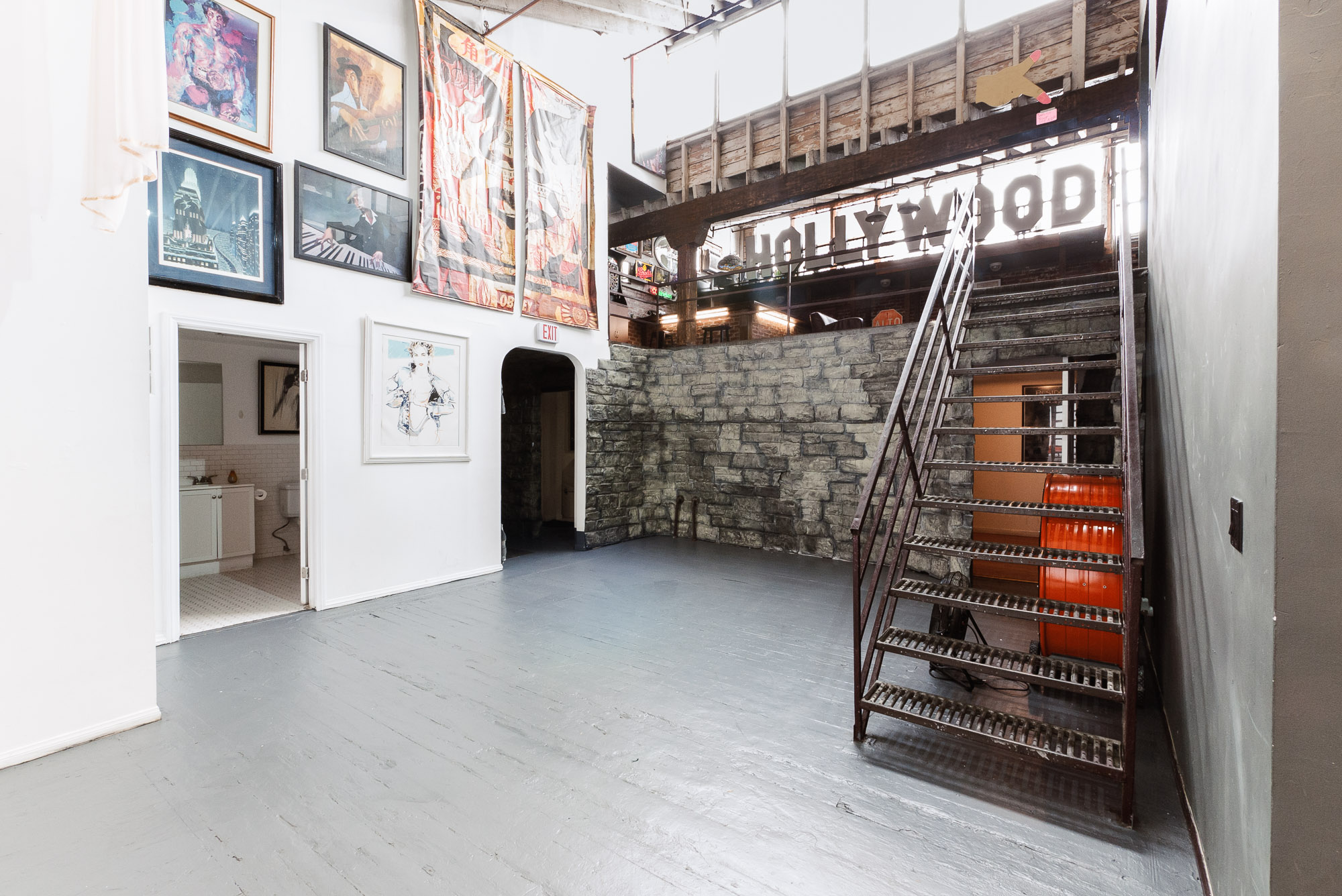 Arts District Live/Work Warehouse Loft | Furnished Short & Long Term Options | Ideal Startup Office Space!