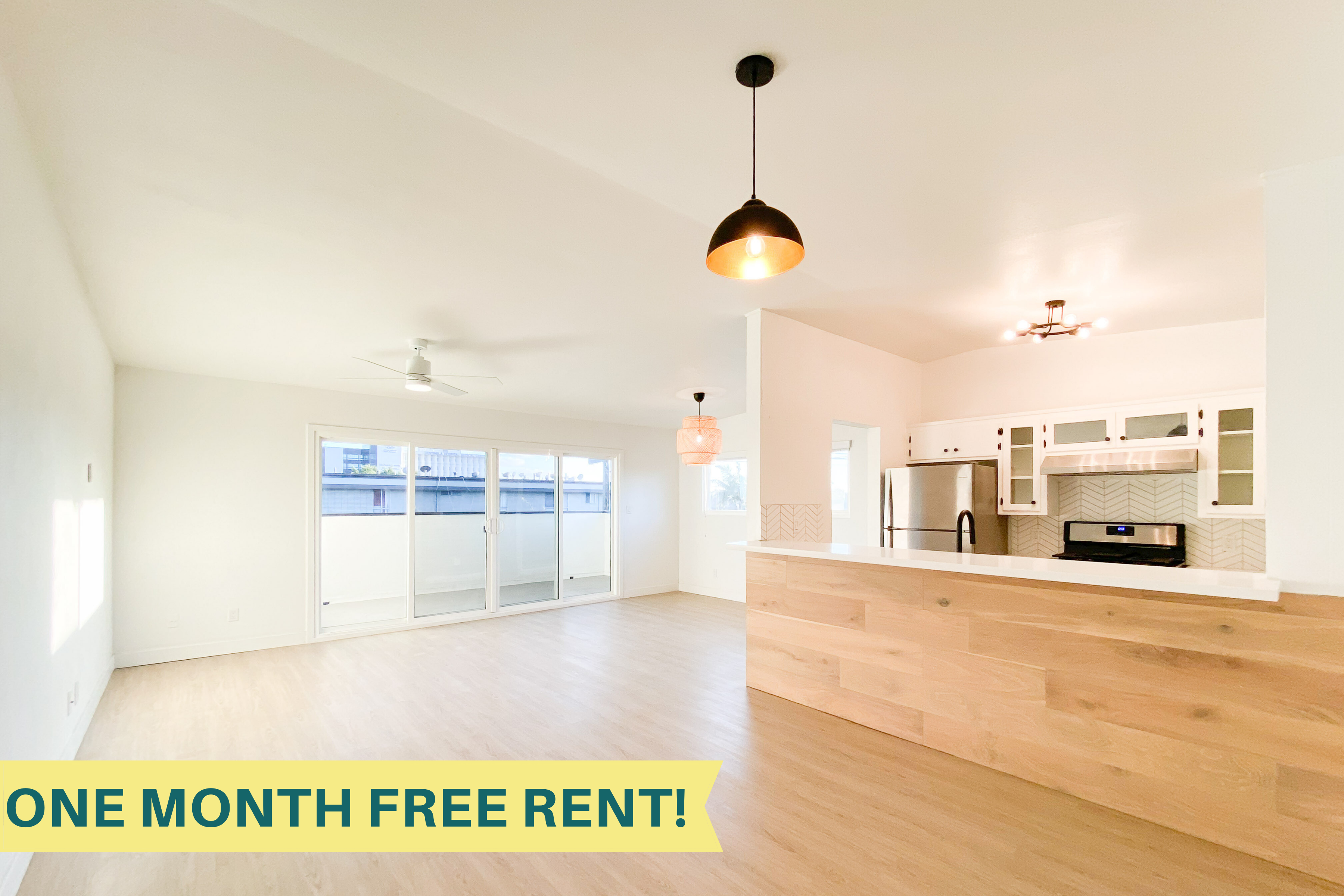 ONE MONTH FREE | Brand New Renovation | Upper Unit | Parking + Laundry Incl