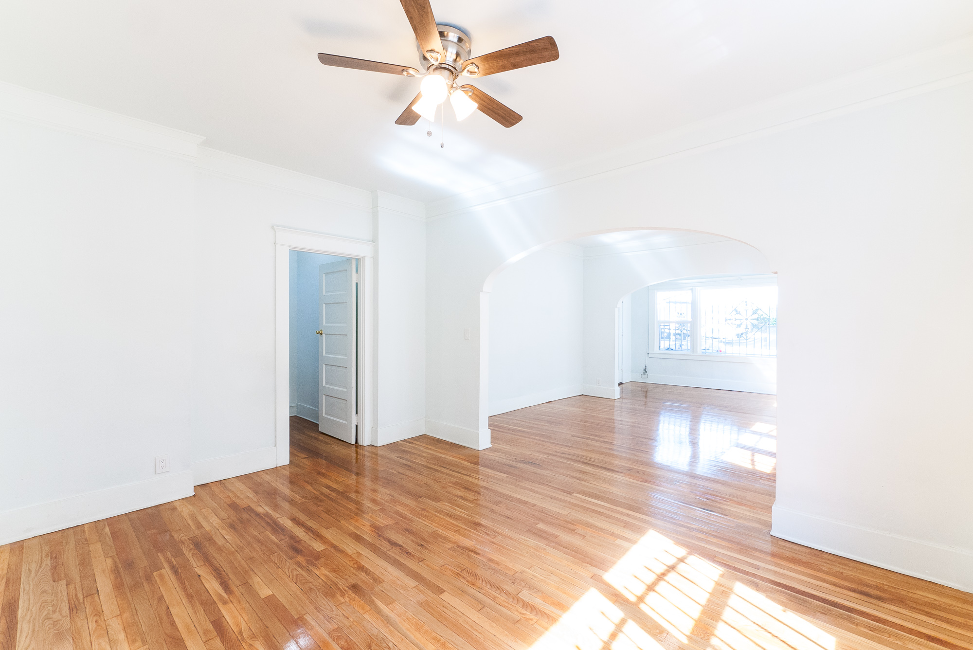 HUGE charming three bedroom Duplex | Gorgeous original hardwood floors | Sun room | TONS of storage | Near Echo Park & DTLA