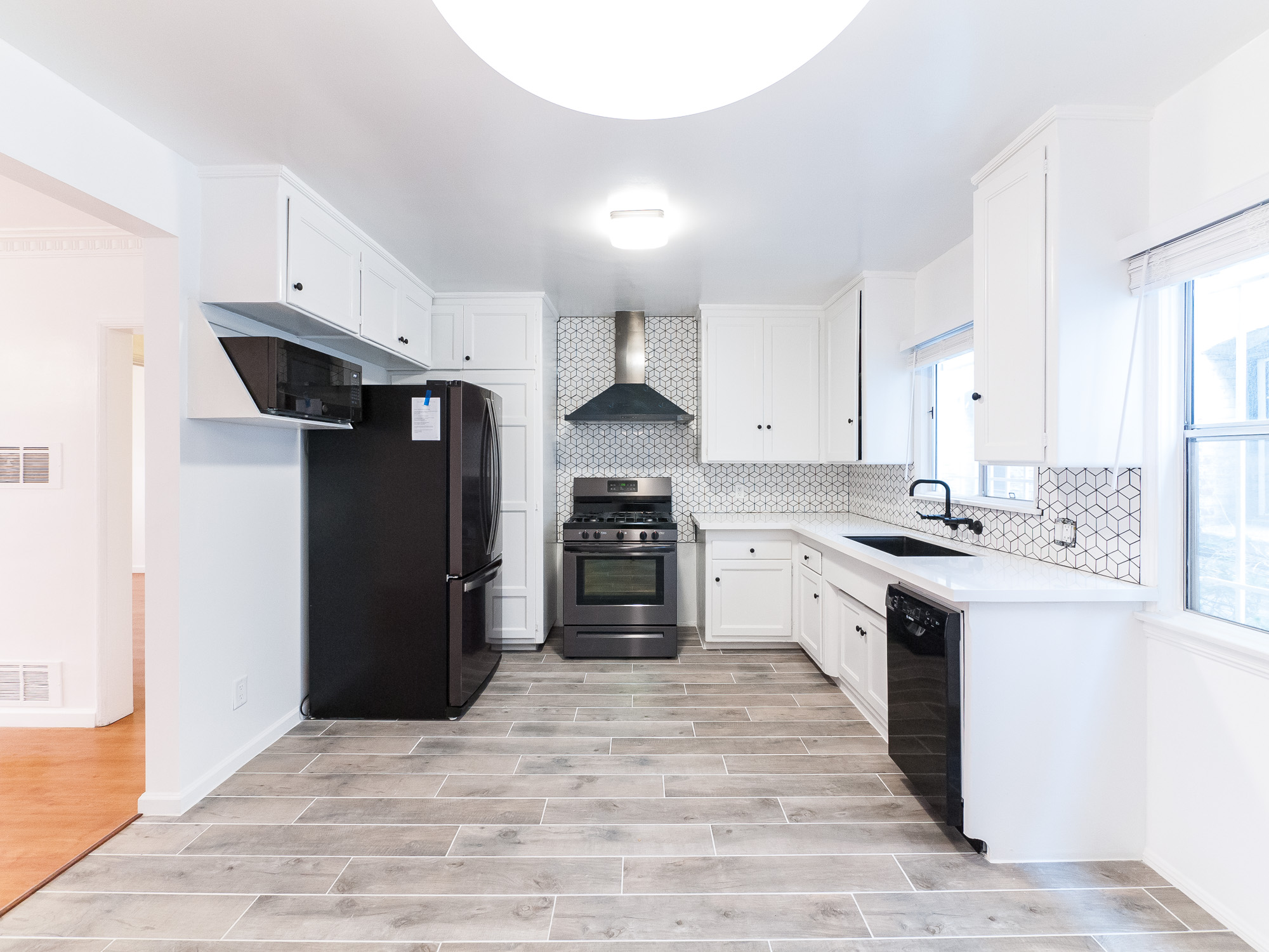 Renovated, Mid Century Cool - A Kitchen to Live For!  Space and Storage Galore! Great Location! Prime KTown Location -Larchmont Adjacent